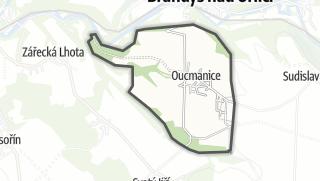 Hartă / Oucmanice