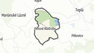 מפה / Ovesné Kladruby