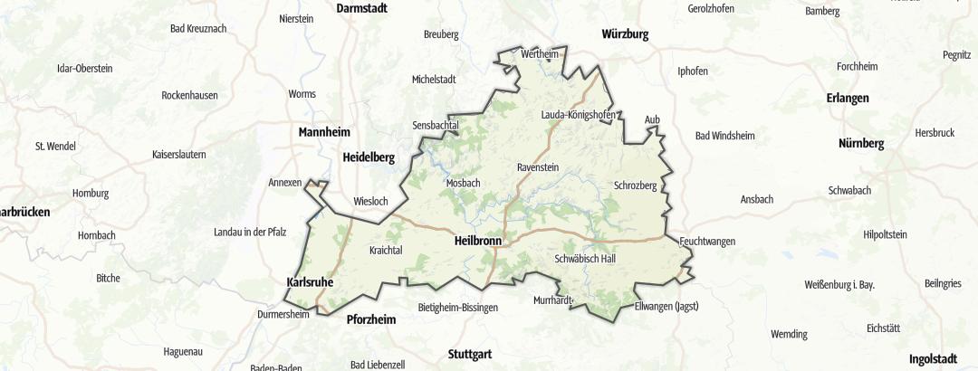 Karte / Nördliches Baden-Württemberg