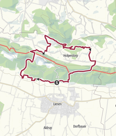 Karte / Teutoschleifen: Holperdorper