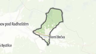 Karte / Prostřední Bečva