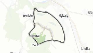 Hartă / Řetová