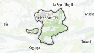 地图 / Ribera d'Urgellet
