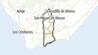 Carte / San Miguel de Abona
