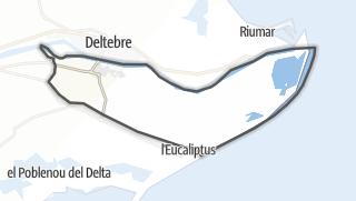地图 / Sant Jaume d'Enveja
