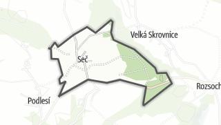 Hartă / Seč