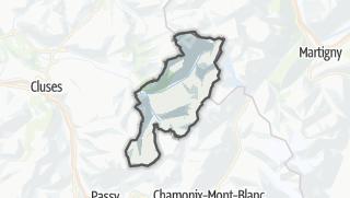Karte / Sixt-Fer-à-Cheval