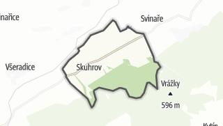 Karte / Skuhrov