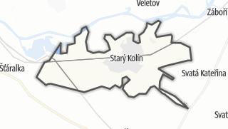 Karte / Starý Kolín