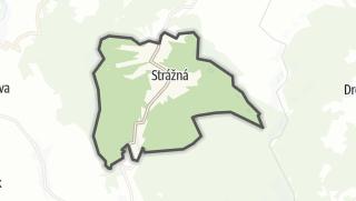 Hartă / Strážná