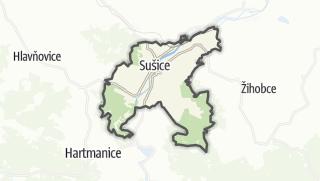 מפה / Sušice
