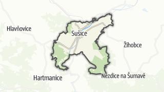 地图 / Sušice
