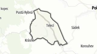 Mapa / Telecí