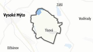 Hartă / Tisová