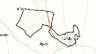地图 / Torrefarrera