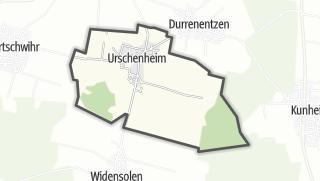 מפה / Urschenheim