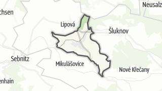 מפה / Velký Šenov