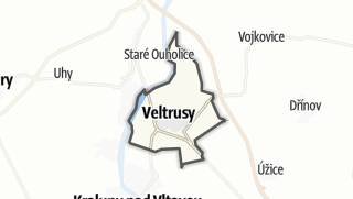 Karte / Veltrusy
