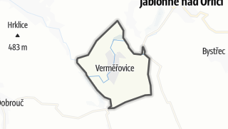 Carte / Verměřovice