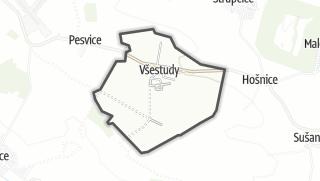 Térkép / Všestudy