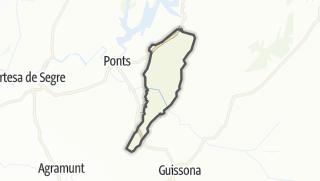 地图 / Vilanova de l'Aguda