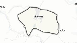 Mapa / Vítějeves