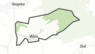 Hartă / Vlčkov