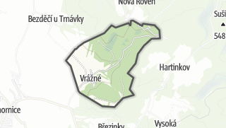 Mapa / Vrážné