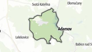 Karte / Vranov