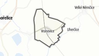 מפה / Vranovice