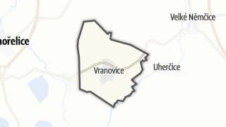 Mapa / Vranovice
