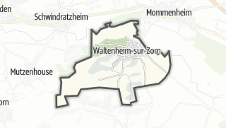 Mapa / Waltenheim-sur-Zorn