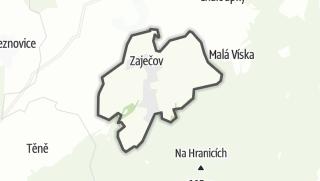 מפה / Zaječov