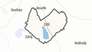 Hartă / Zálší