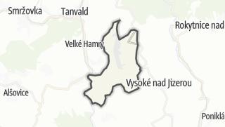 Karte / Zlatá Olešnice