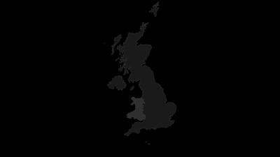 Karte / Wales