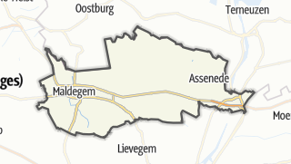 Mapa / Eeklo