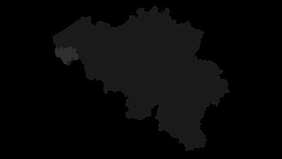 Mapa / Ieper