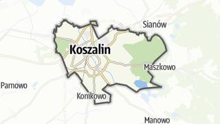 Карта / Koszalin