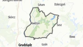 Map / Kwidzynski