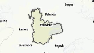地图 / Valladolid