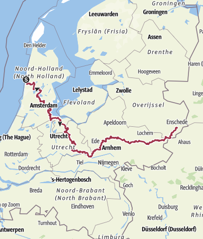 Mapa / Trekvogelpad 2019-09-18