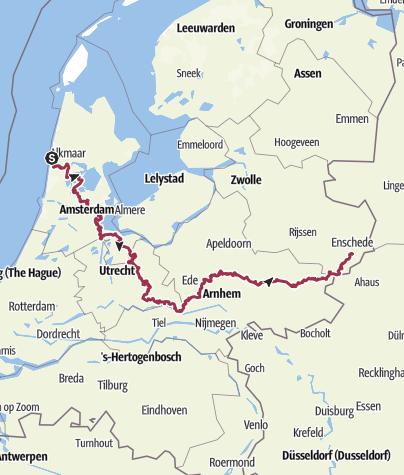 地图 / Trekvogelpad 2019-09-18