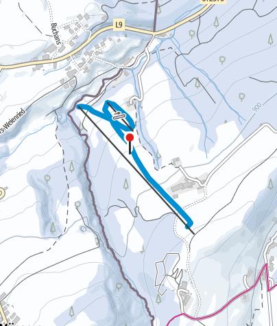 Karte / Scheidegg Luggi-Leitner-Lift