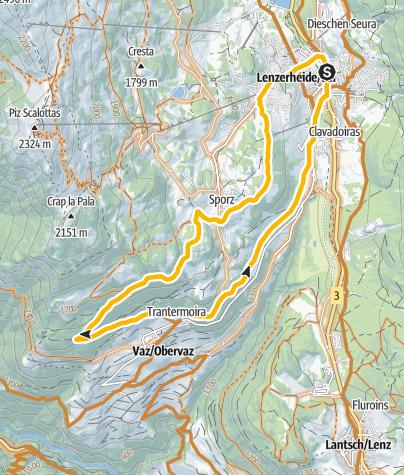 Map / GPS «ŠKODA Yeti» Lain Tour