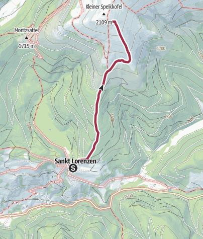 Mappa / Ciaspolata Sankt Lorenzen