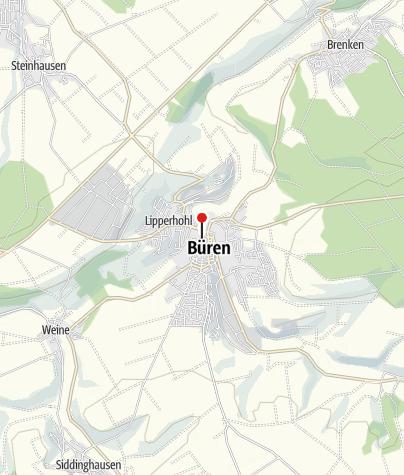 Karte / Jesuitenkirche Büren