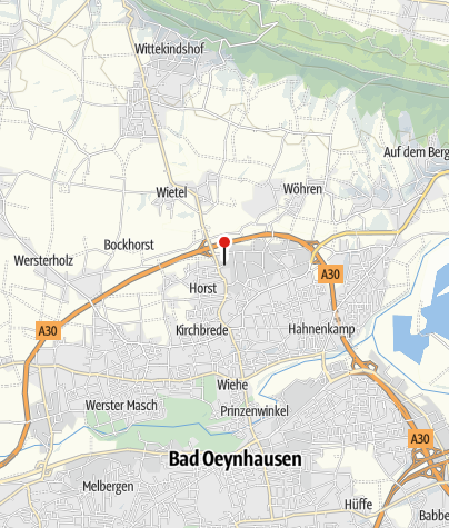 Map / Wasserschloss Ovelgönne, Bad Oeynhausen