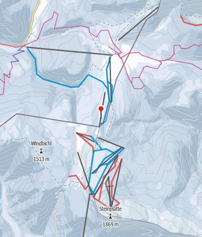 Winklmoosalm Steinplatte Skigebiet Outdooractivecom