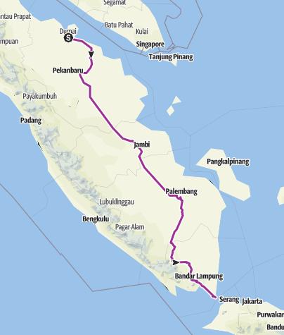Map / 73-Indonesia-Sumatra